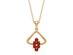Red Onyx Necklace