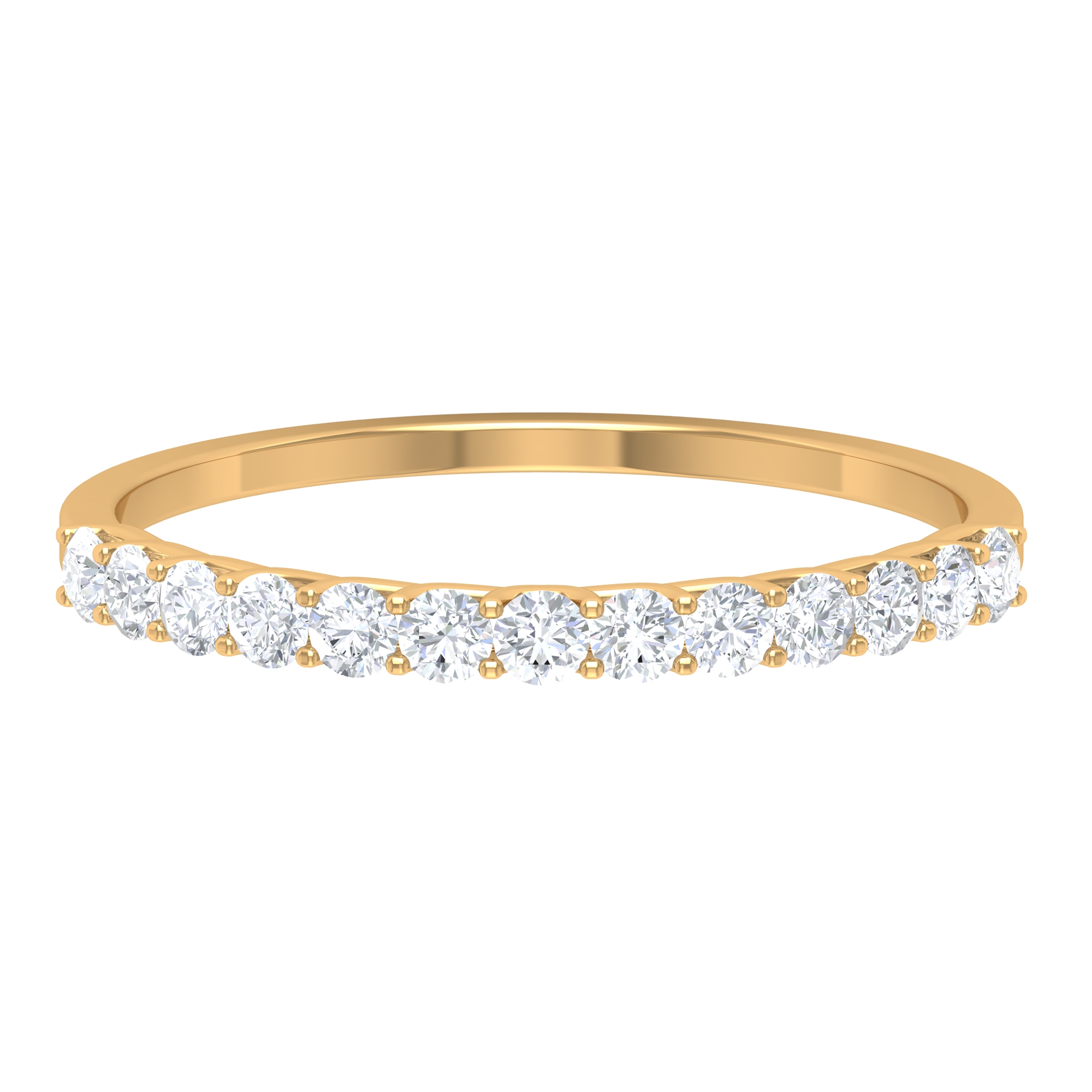 1/4 CT Stackable Diamond Band for Women