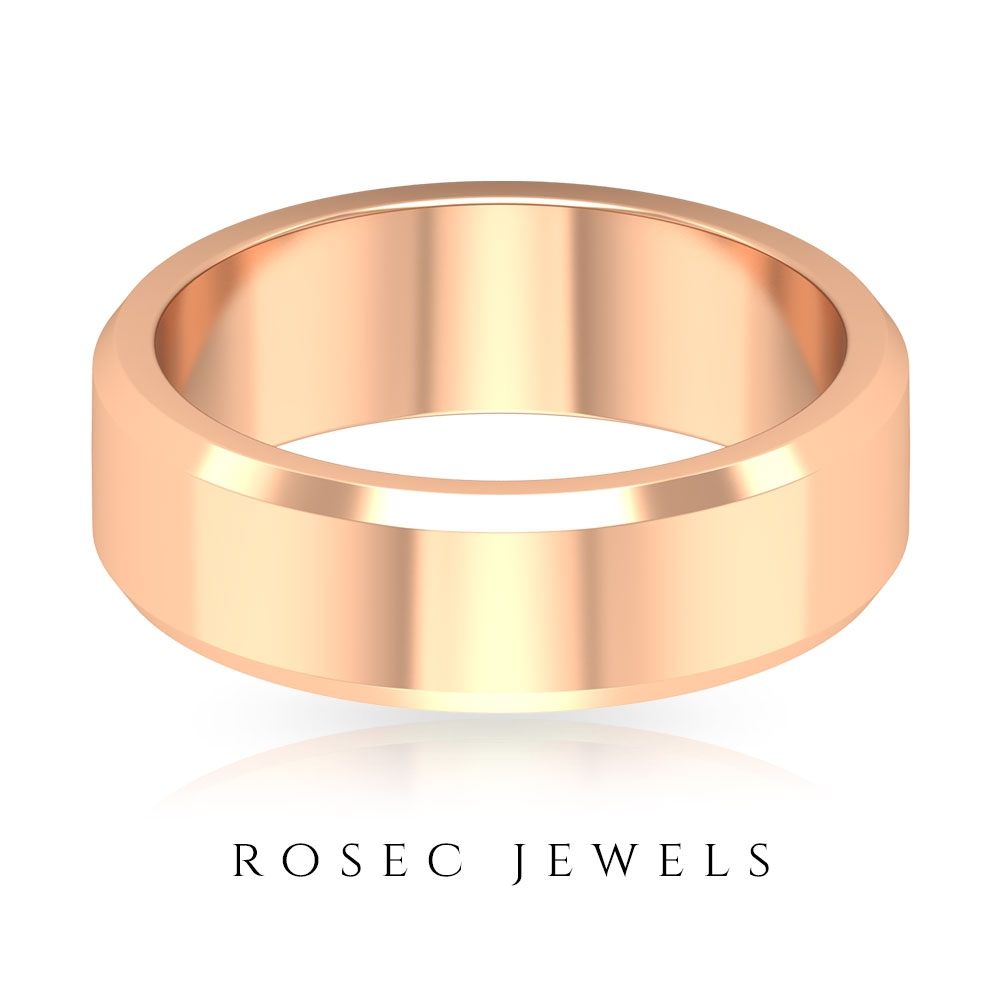 Wide Wedding Band Ring For Men