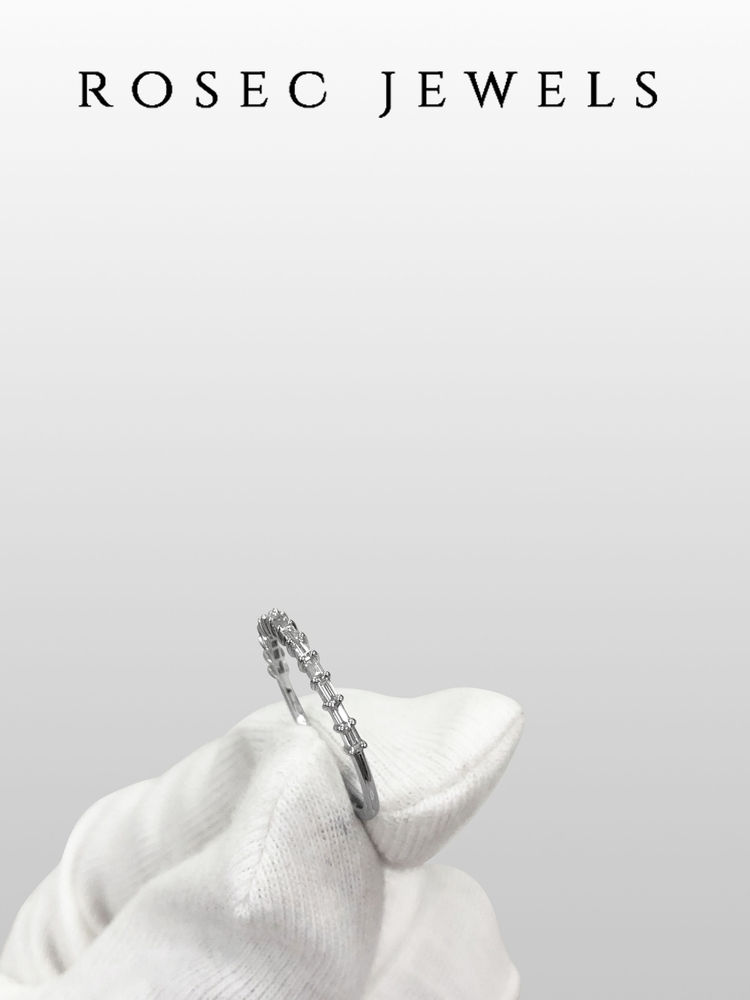 1/4 CT Stackable Diamond Band Ring for Her
